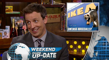 Seth Meyers' Weekend Made Up-Date