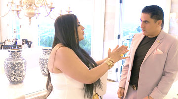"Mercedes ""MJ"" Javid Gives Reza Farahan an Ultimatum"