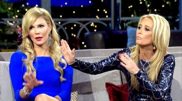 "Kim Richards Says Lisa Vanderpump is ""Full of S---"""
