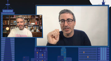 Which RHONY 'Wife Does John Oliver Think is Quarantine-Worthy?