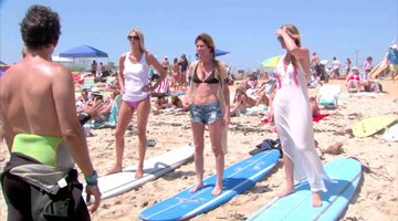 The RHONY Learns to Surf