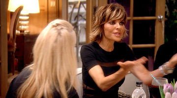 Kim Richards Confronts Lisa Rinna