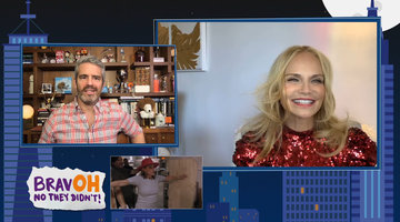 Kristin Chenoweth is Surprised by Dorinda Medley