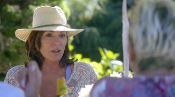 Luann de Lesseps Admits She's Having a Hard Time Not Drinking