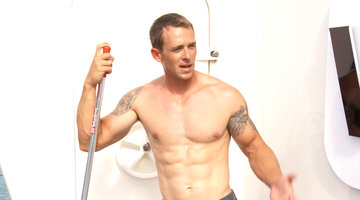 Shirtless Chores with Kelley Johnson, Part 1