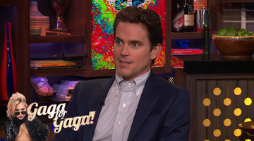 Matt Bomer on Working with Lady Gaga