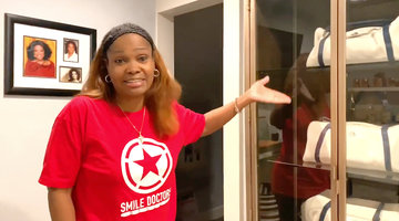 Dr. Heavenly Kimes Shows Inside Her Massive Closet and Glam Room