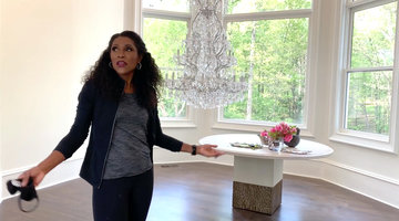 Dr. Jackie Walters Shows Inside Her Newly Renovated House