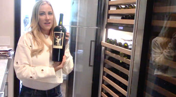 Stephanie Hollman's Wine Fridge Is Next Level
