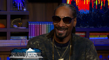 Snoop Dogg Plays Plead the Fifth!
