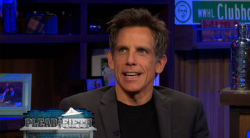 Ben Stiller Pleads the Fifth!