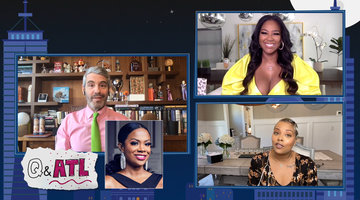 Eva Marcille & Kenya Moore Give Reunion Questions to Andy Cohen