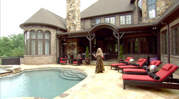 Tour Kim and Kroy's Dream House