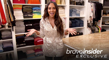 "Step Inside Melissa Gorga's Colorful Closet She ""Technically"" Shares with Joe"