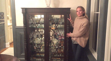 See What Very Original Piece is on Display in Cameran's China Cabinet