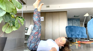 Ashley Darby Teaches At-Home Yoga to Help You Relax While Social Distancing