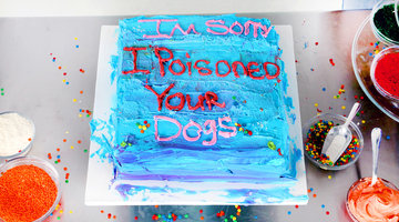 Sorry I Poisoned Your Dogs