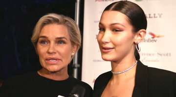 Yolanda and Bella Hadid Open Up About Lyme Disease Journey