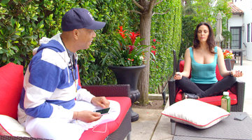 Russell Simmons and Bleona: BFFs?