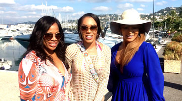 The Real Housewives of Potomac Say Bonjour from Cannes