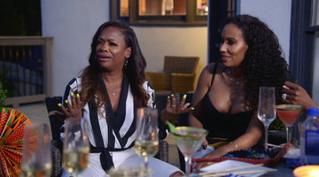 "Porsha Williams Tells Kandi Burruss ""You're Not My F---ing Friend"""