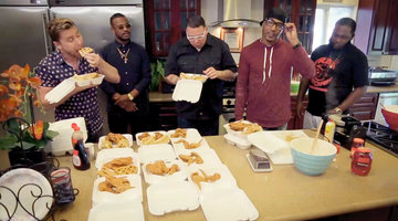Lance Bass and Graham Elliot Taste Snoop Dogg's Favorite Chicken and Waffles