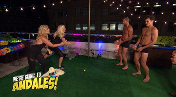 Shannon & Tamra Compete in an Obstacle Course