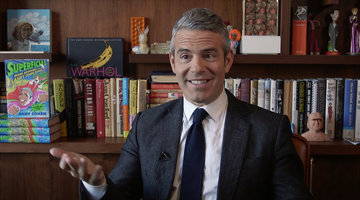 Andy Cohen Reads Texts from Real Housewives