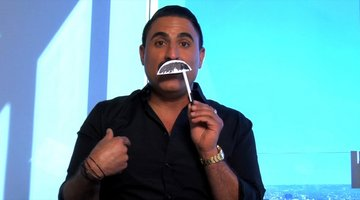 Reza Rants: On His Mustache