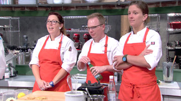 The Rookie Chefs Closely Watch Their Competition