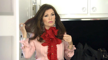 Lisa Vanderpump Gets Glammed up for the Reunion