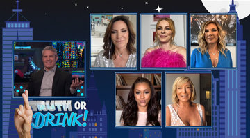 The RHONY Housewives Play Truth or Drink!