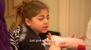 Milania Giudice Needs Five More Minutes of Sleep!