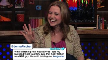 No Gaydar for Jenna Fischer