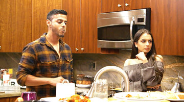 Monica Vaswani Tells Brian Benni Off At Friendsgiving