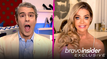 Unseen Moment: Andy Cohen Asks ALL the Questions About Denise Richards' Husband