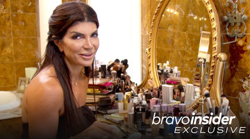 Make-up Artist or Housewife? Step Inside Teresa Giudice's Overflowing Vanity