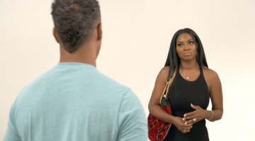 Kenya Moore Can't Get a Word in Edgewise with Marc Daly