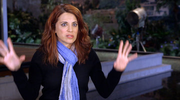 Alanna Ubach's First Day on Set