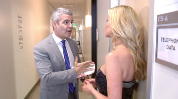 Andy Cohen Gives Camille Grammer a Mid-Reunion Pep Talk