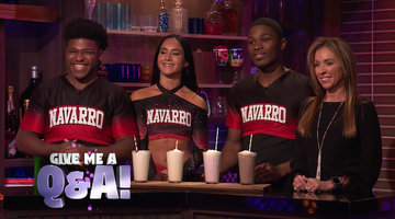 Andy Cohen's Speed Round for 'Navarro' Cheer Squad