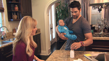 Tamra and Eddie Have a Baby, A Robot Baby