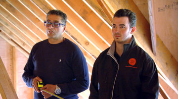 Kevin Jonas, the Contractor?