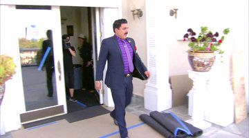 Reza Walks Out of the Reunion