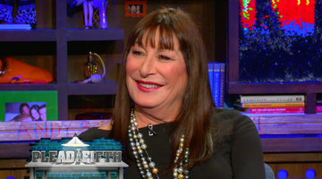 Anjelica Huston Pleads the Fifth!