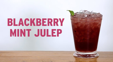 Tipsy by Bravo: Blackberry Mint Julep