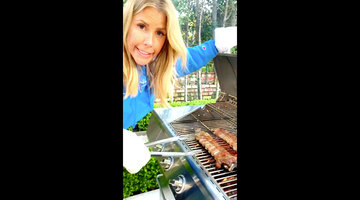 Tracy Tutor Shows Off Her Grilling Skills With Delicious Looking Ribs