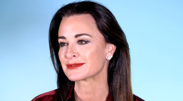 "Kyle Richards Admits That Five Dogs is ""Very Challenging"""
