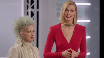 Cyndi Lauper Comes to Project Runway!