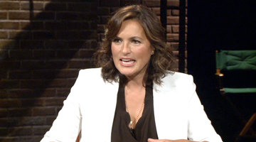 Mariska Talks Perfecting her Cop Walk